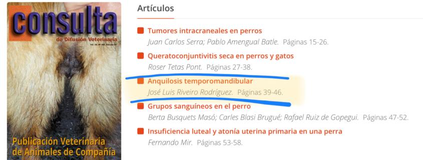 anquilosis temporomandibular